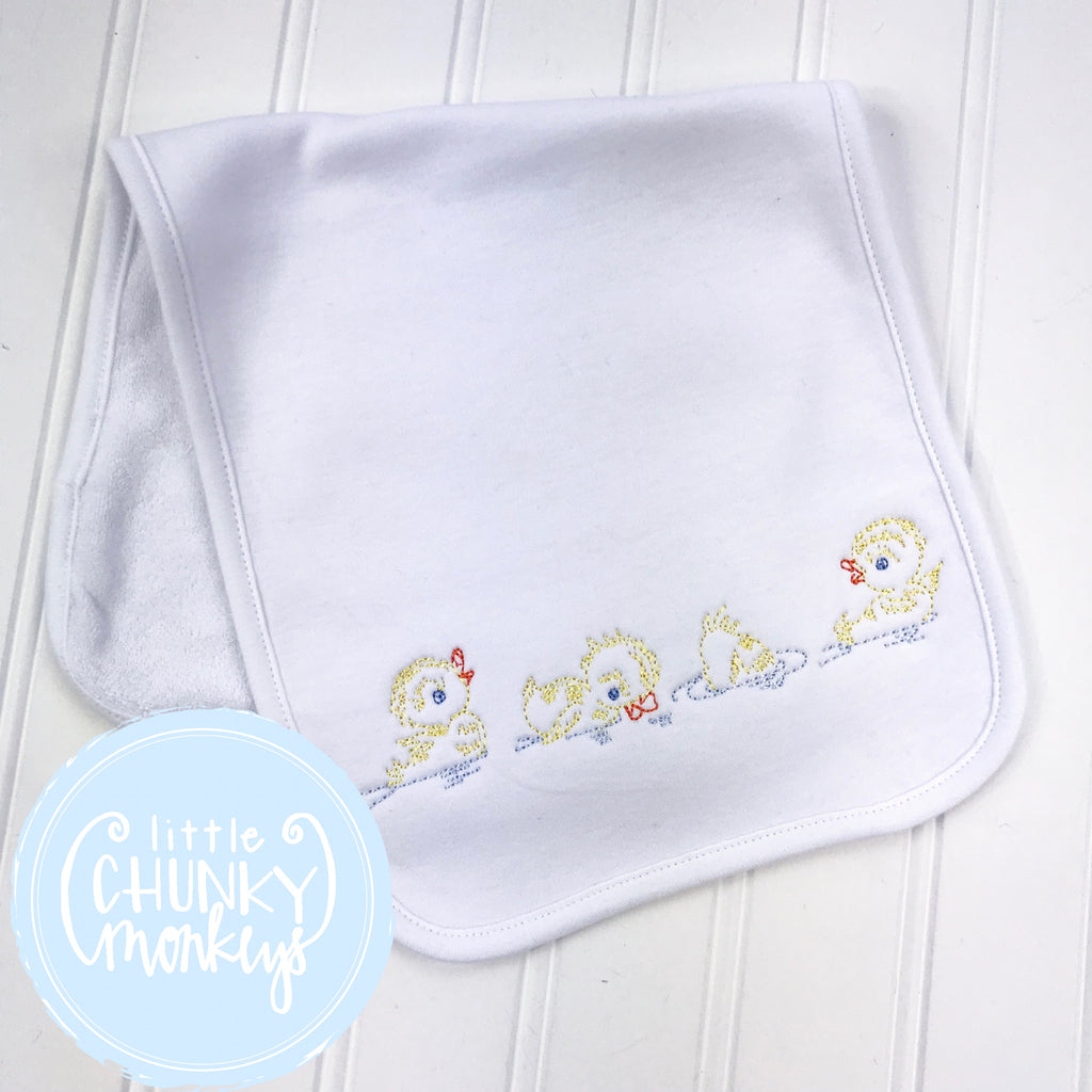 Baby Burp Cloth with Personalization