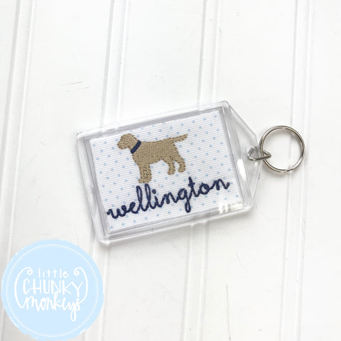Personalized Luggage Tag - Standing Dog