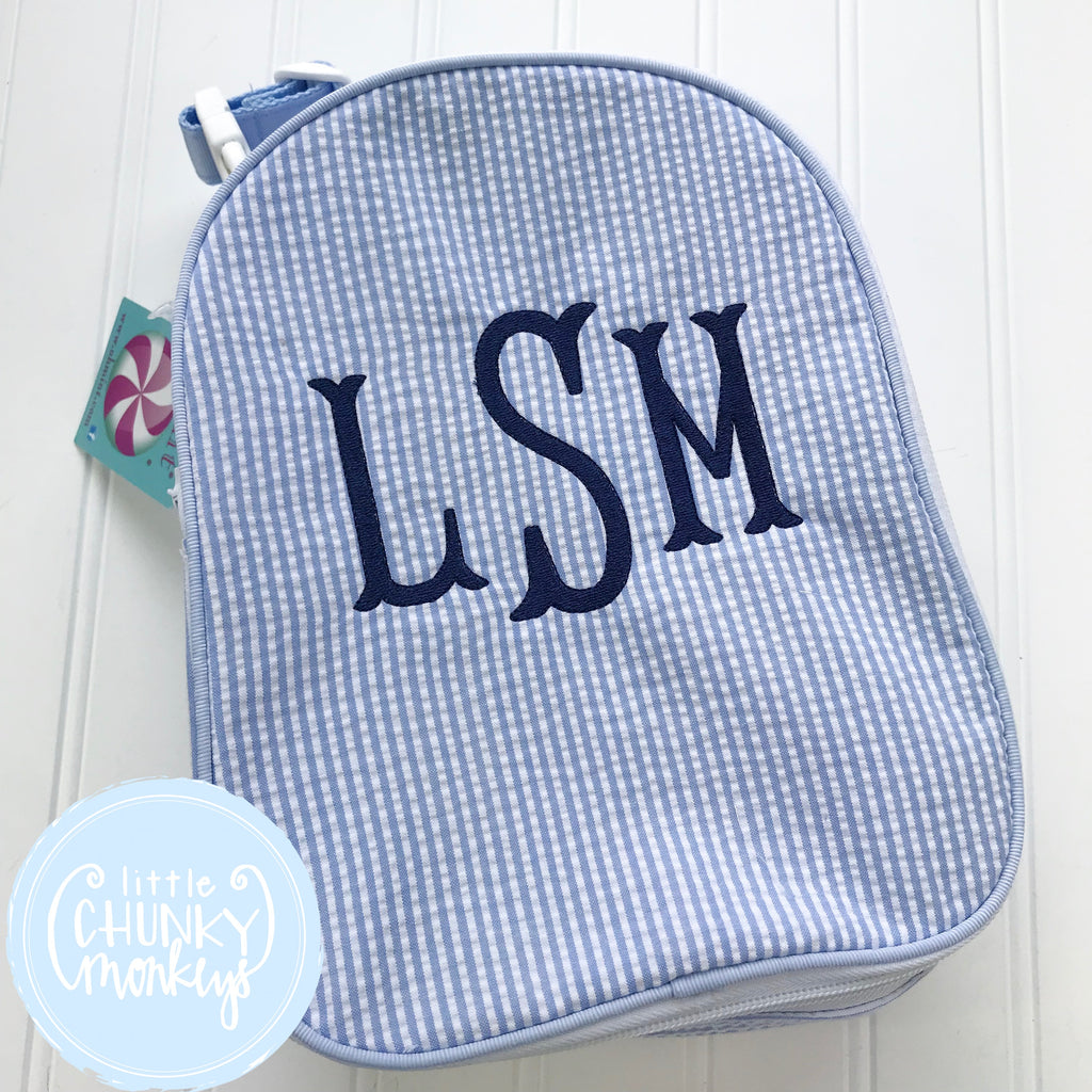 Gumdrop Lunch Box + Monogram