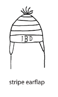 Custom Knit Stripe Hat