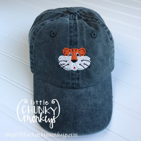 Toddler Kid Hat - Tiger on Navy