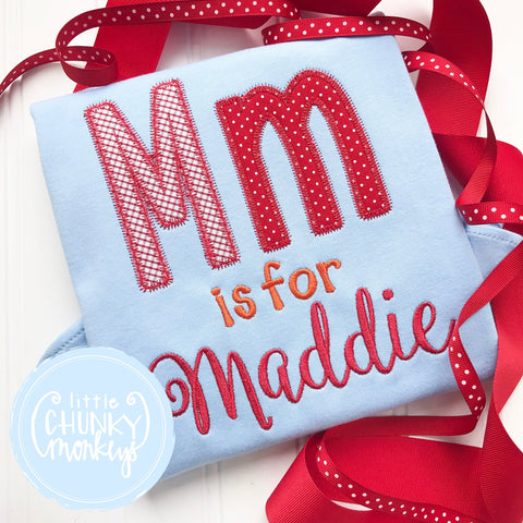 Girl outfit - Mm is for Maddie
