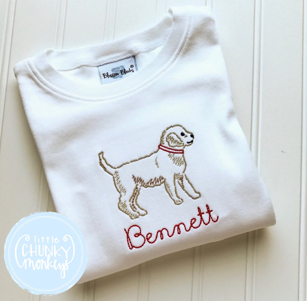 Boy Shirt - Personalized Shirt with Dog