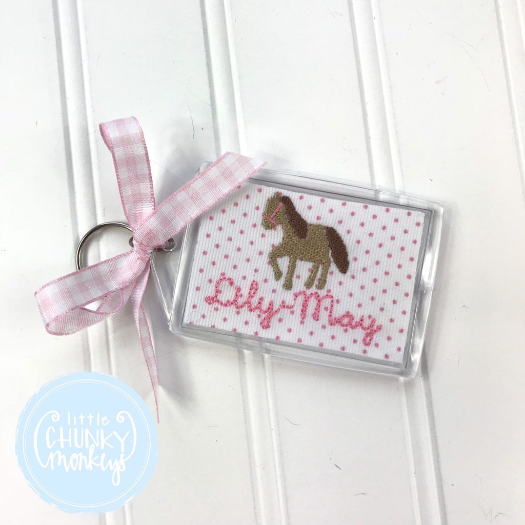 Personalized Luggage Tag - Horse Luggage Tag