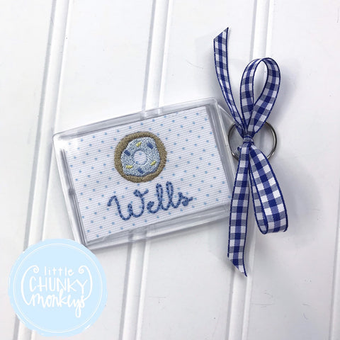Personalized Luggage Tag - Donut Luggage Tag