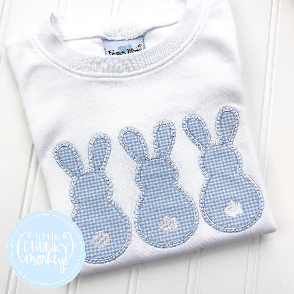 Boy Shirt - Easter - Boys Bunny Shirt