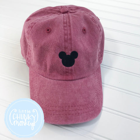 Toddler Kid Hat - Mouse on Red Hat