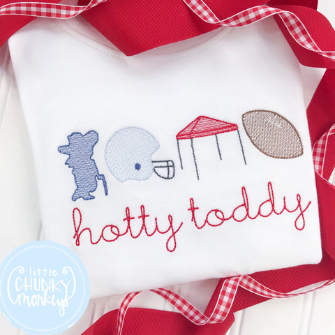 Boy Shirt - Hotty Toddy Stitched Football
