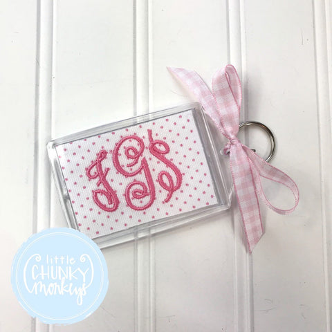 Personalized Luggage Tag - Monogram Luggage Tag
