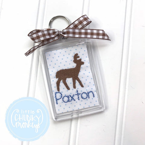 Personalized Luggage Tag - Deer Luggage Tag