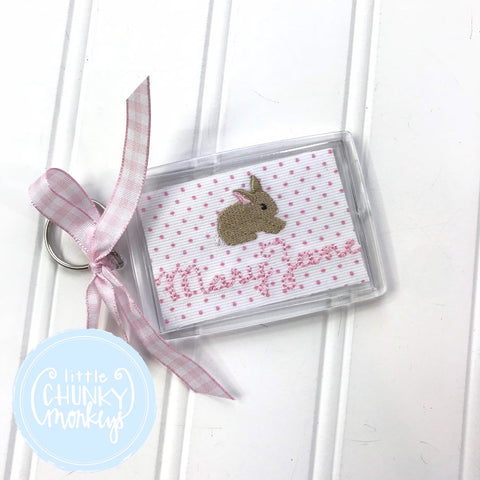 Personalized Luggage Tag - Bunny Luggage Tag