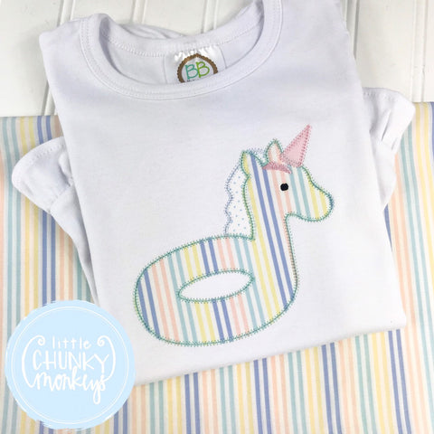 Girl Shirt - Unicorn Float