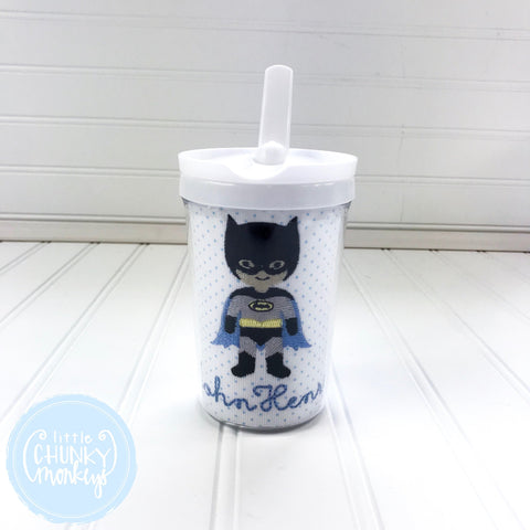 Toddler Straw Sippy Cup with Personalization