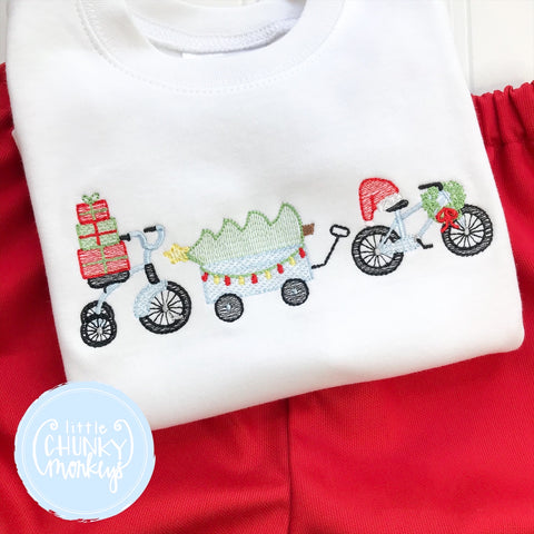 Boy Shirt -Stitched Christmas Parade