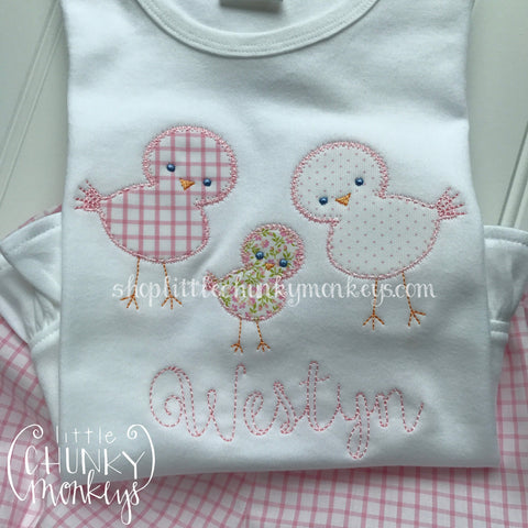 Girl Shirt - Little Chicks