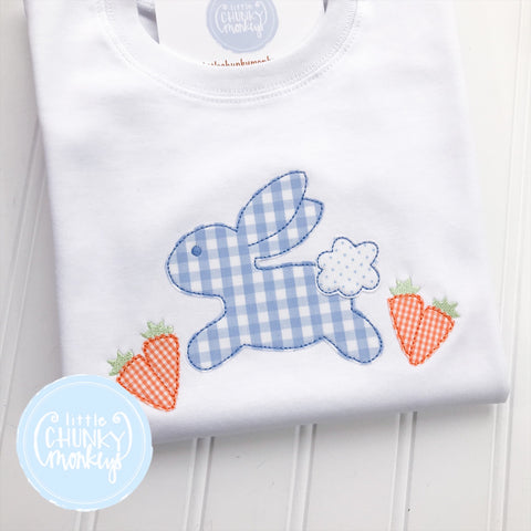 Boy Shirt - Bunny and Carrots