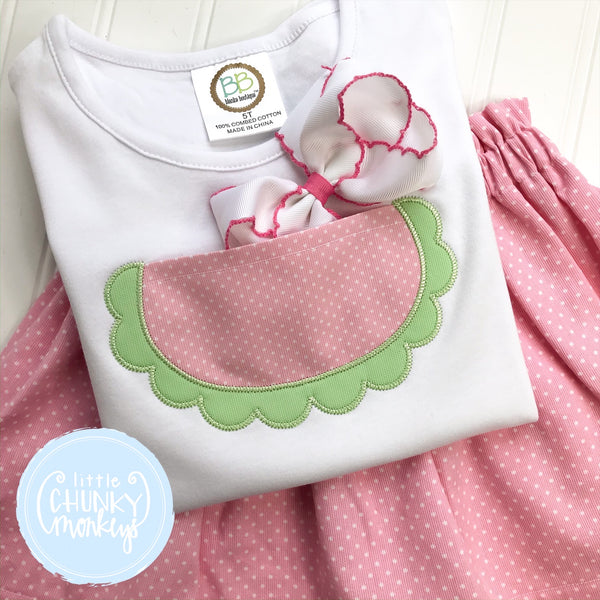 Girl Shirt - Watermelon Pocket