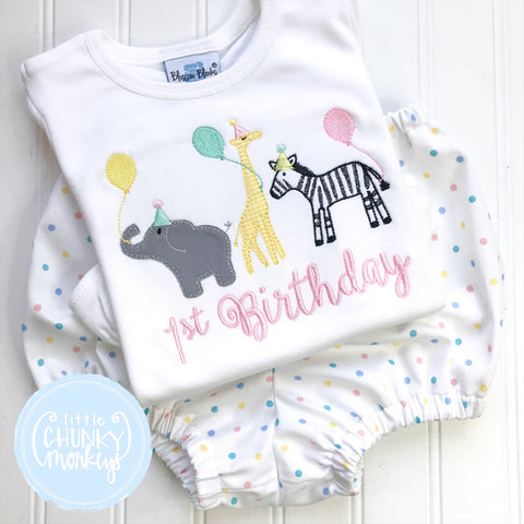 Girl Shirt - Party Animals