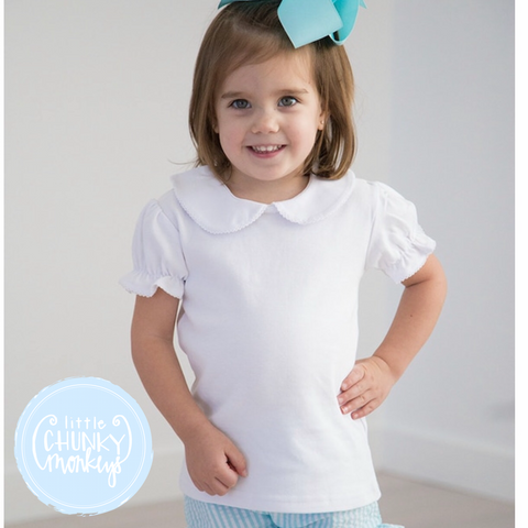 Customize Girl Peter Pan Collar Shirt