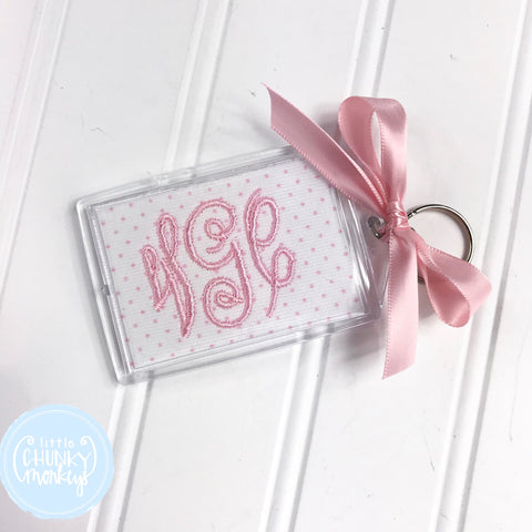 Personalized Luggage Tag - Classic Monogram