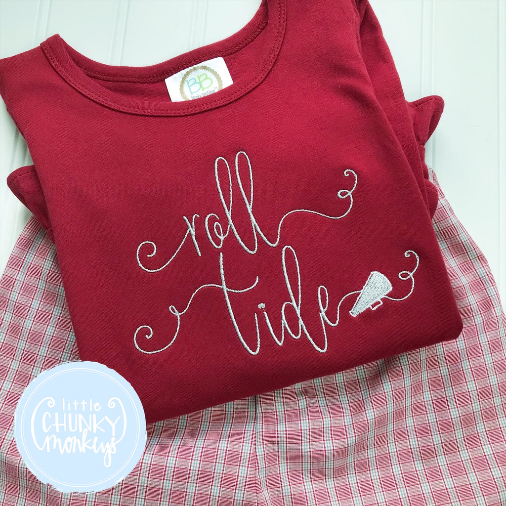 Girl Shirt - Vintage Stitch with Megaphone