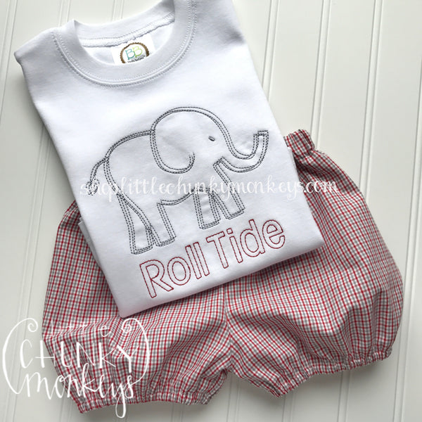Boy Shirt - Boy Football Shirt - Personalized Stitch Elephant Shirt