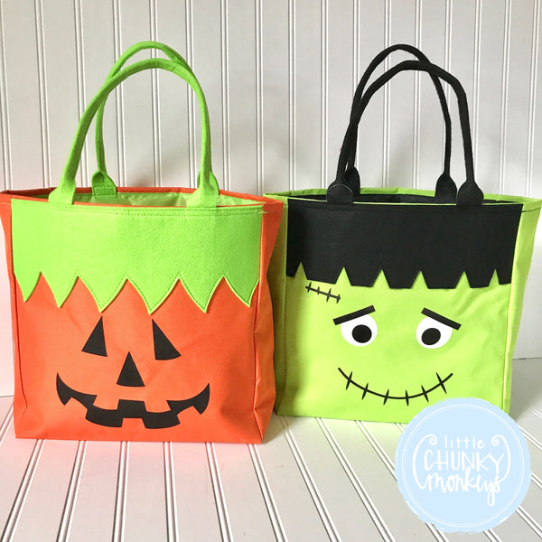 Halloween Character Tote Bags