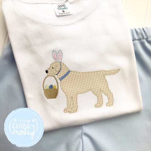 Boy Shirt - Boy Easter Shirt - Easter Dog