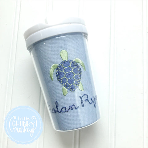 Sea Turtle Cup with name
