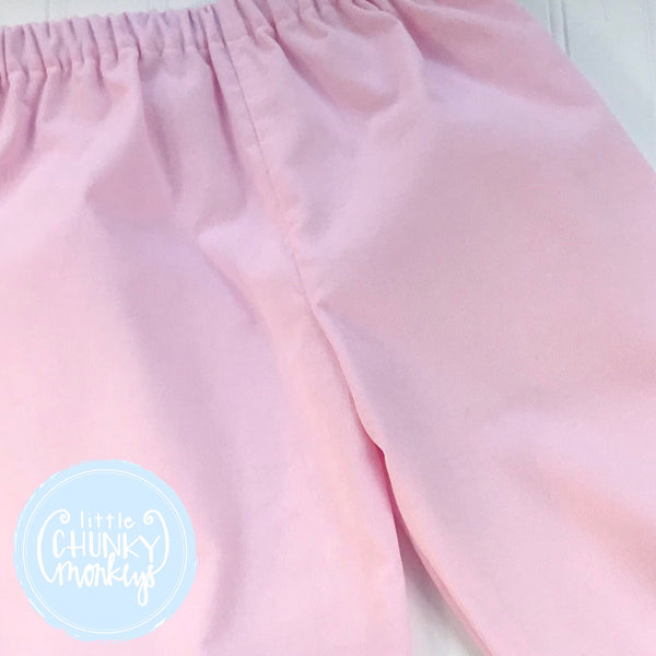 Light Pink Corduroy Bottoms