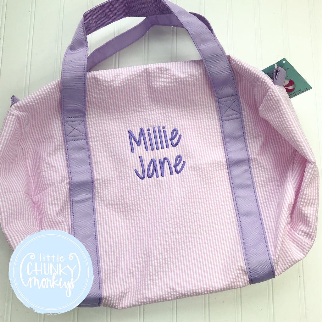 Medium Duffle- Personalized with Name