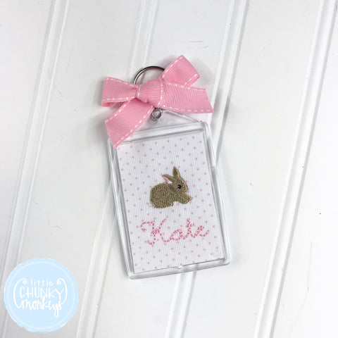 Personalized Luggage Tag - Bunny with Personalization