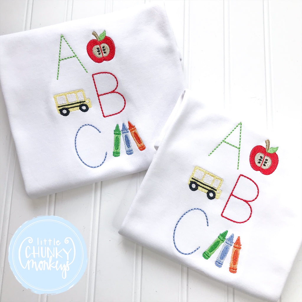 Boy Shirt - ABC Shirt