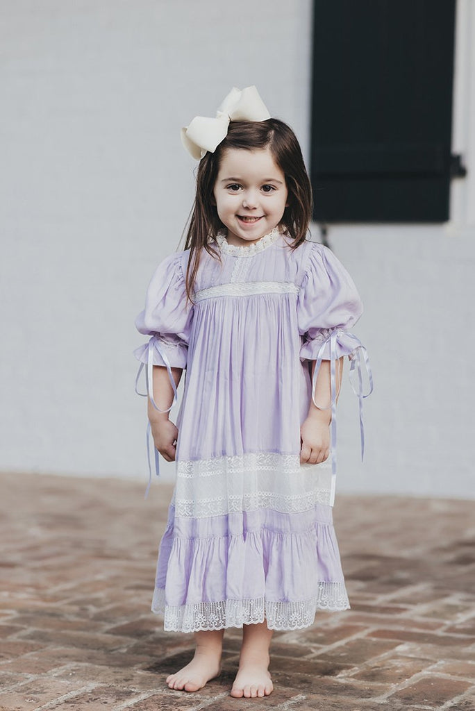 Pre-Order - Lavender Heirloom Dress
