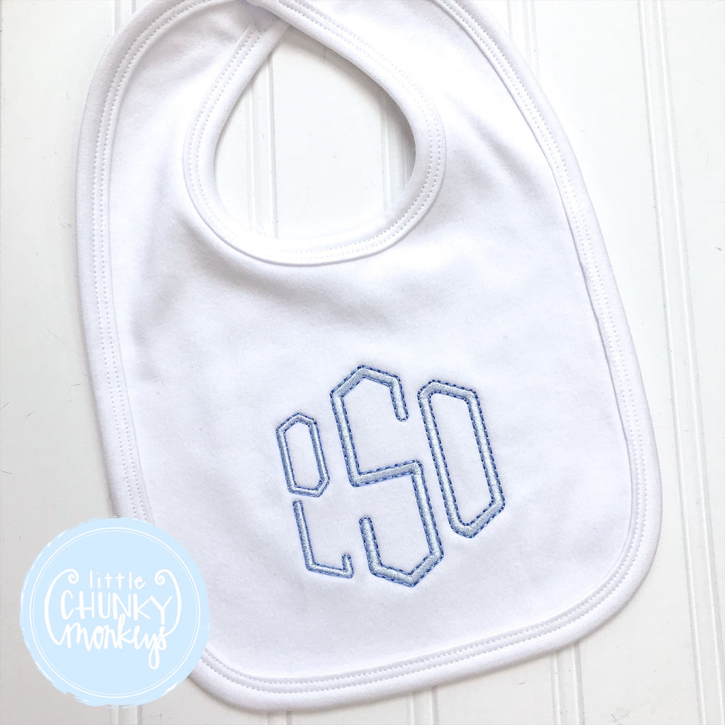 Baby Unisex Bib with Personalization