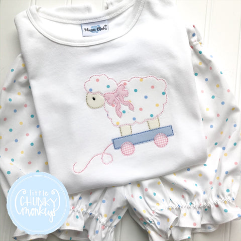 Girl Shirt - Lamb Wagon