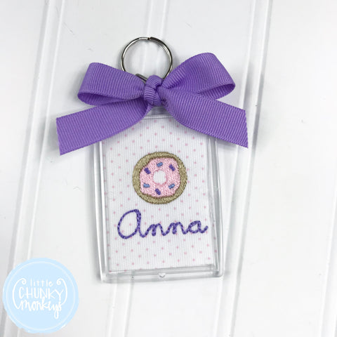 Personalized Luggage Tag - Donut with Personalization