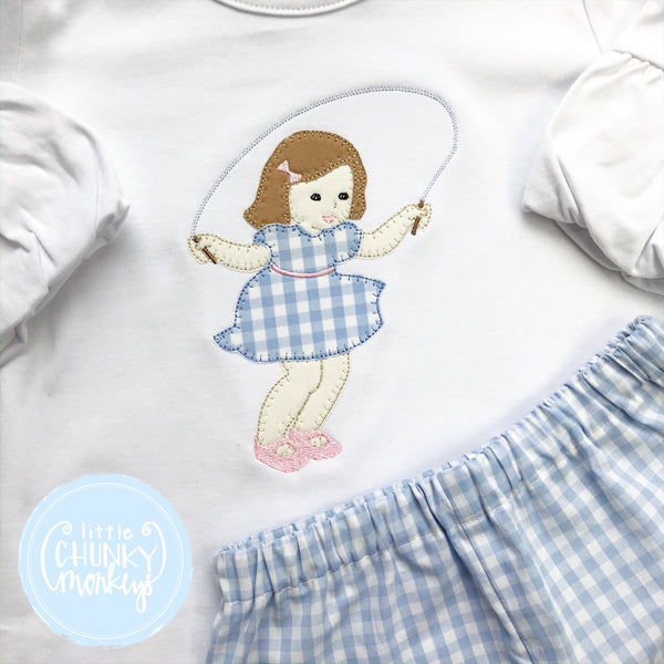 Girl Shirt - Girl Jump Roping