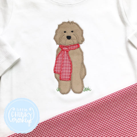 Boy Shirt - Winter Dog