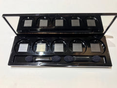 REFILL 5-WELL EMPTY EYESHADOW PALLET
