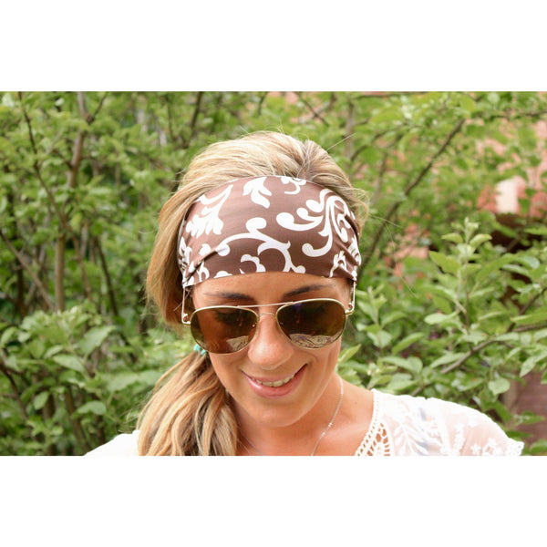 Chocolate Sundae Yoga Headband