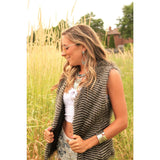 Ruffle My Feathers Vest - Beautifull Boundaries