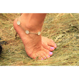 Circle Circle Jewelled Bracelet & Anklet - Beautifull Boundaries