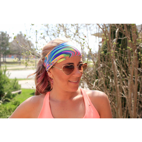 Disco Yoga Headband