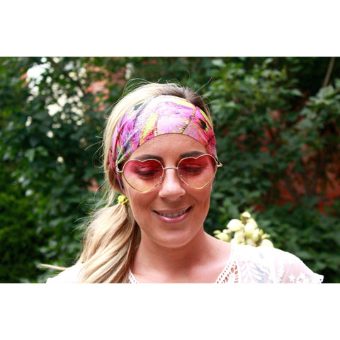 Pinkish Yoga Headband
