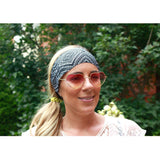 Black Aztec Yoga Headband - Beautifull Boundaries