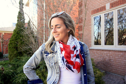 UK Nation Lightweight Spring Scarf