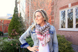 Moustache Lightweight Spring Scarf - Beautifull Boundaries