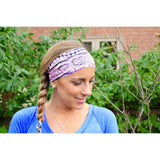 Fish scales Yoga Headband - Beautifull Boundaries