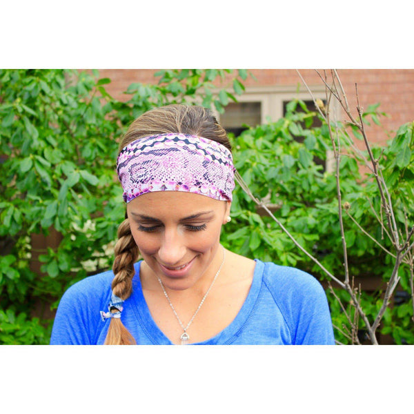 Fish scales Yoga Headband